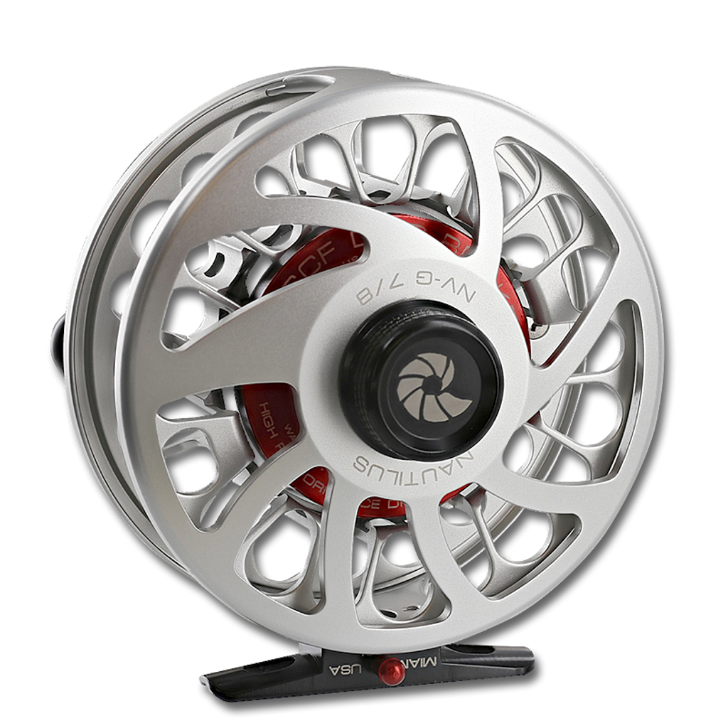 Nautilus NV-G Fly Reels - Back View