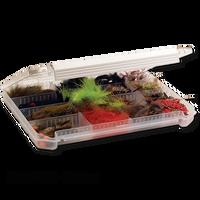 Meiho Model 1200 Adjustable Fly Box - Shallow