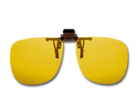 Cocoons Polarized Flip-Ups - Square/Yellow