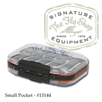 The Fly Shop's Signature Double-Sided Waterproof Fly Box - Small