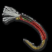 Zack's Jumper-Cable Midge - Red