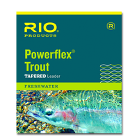 """Rio Knotless Tapered 12'0"""" Trout Leaders - Single Pack"""
