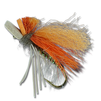 Mercer's Skating October Caddis - #8