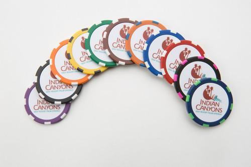 Logo Golf Chips