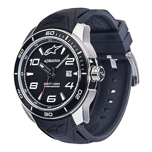 Horloge Alpinestars Tech Watch 3H Steel black-steel (1036-96007)