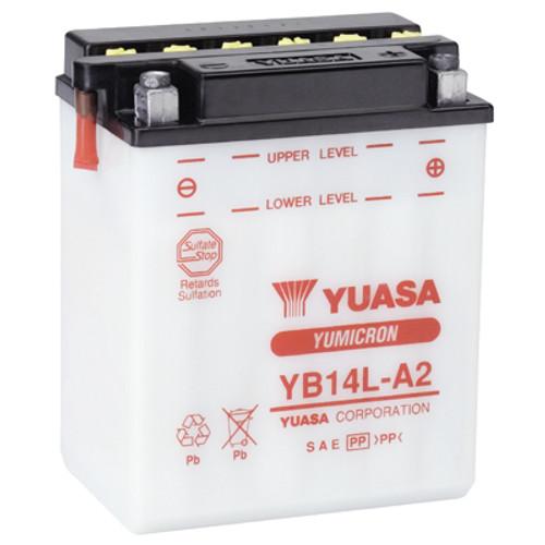 Accu Yuasa YB14L-A2 (YB14LA2)