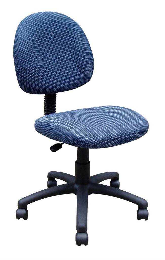 NEW Office Chairs BLUE FABRIC DELUXE POSTURE CHAIR,BL-0070
