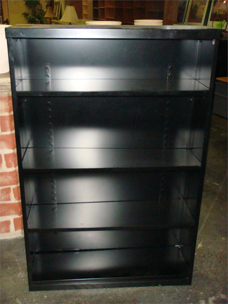 Used 4 Shelf Metal Bookcase