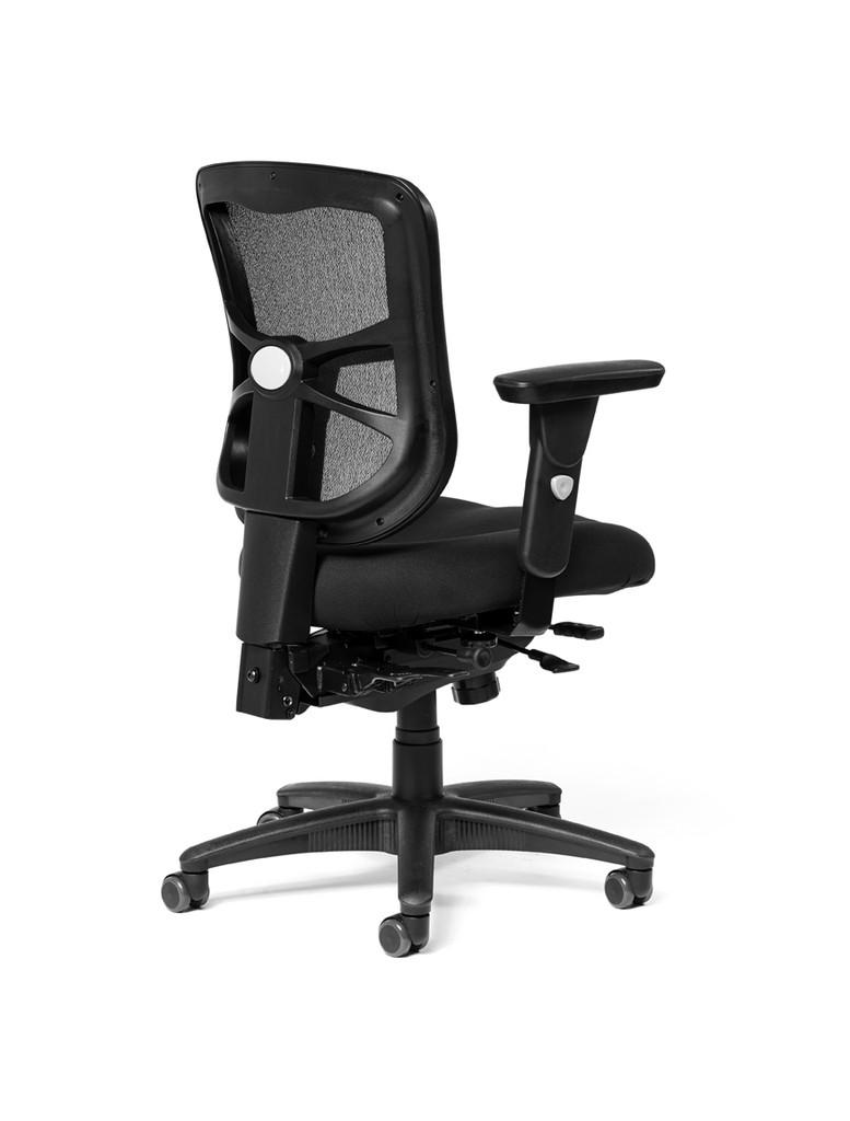 Milan Ultra Mesh Mid-Back Intensive Task Chair w/ Seat Slider