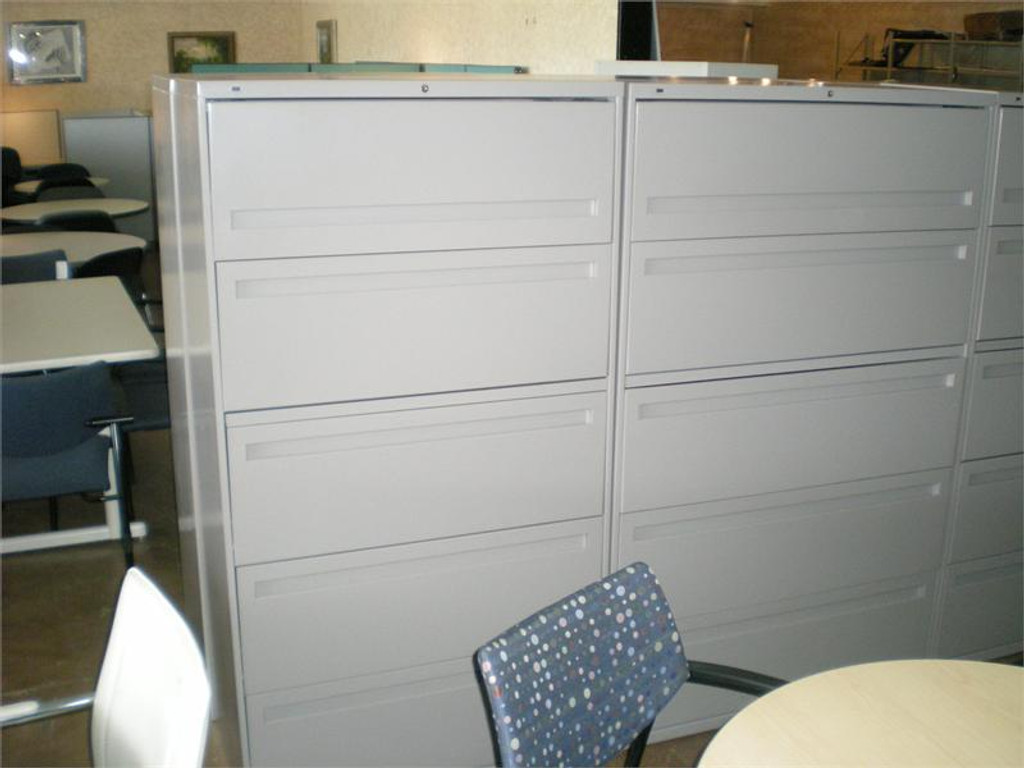 """USED HON LATERAL FILES 36"""" 5 DRAWER"""