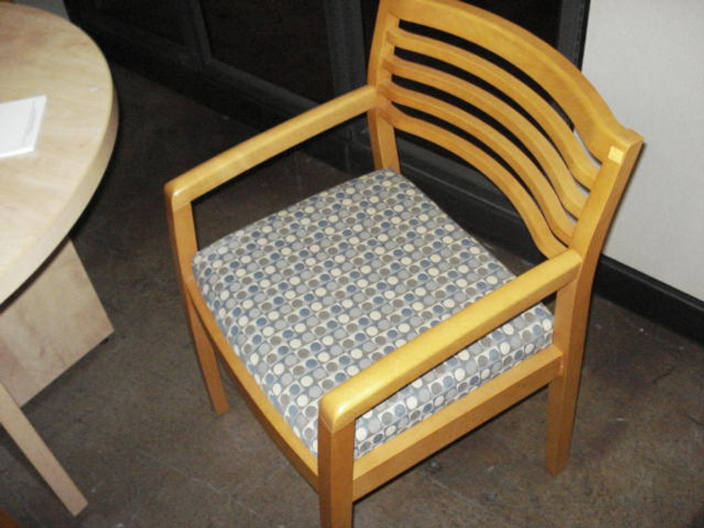 GUEST SEATING WOOD FRAME MAPLE FINISH