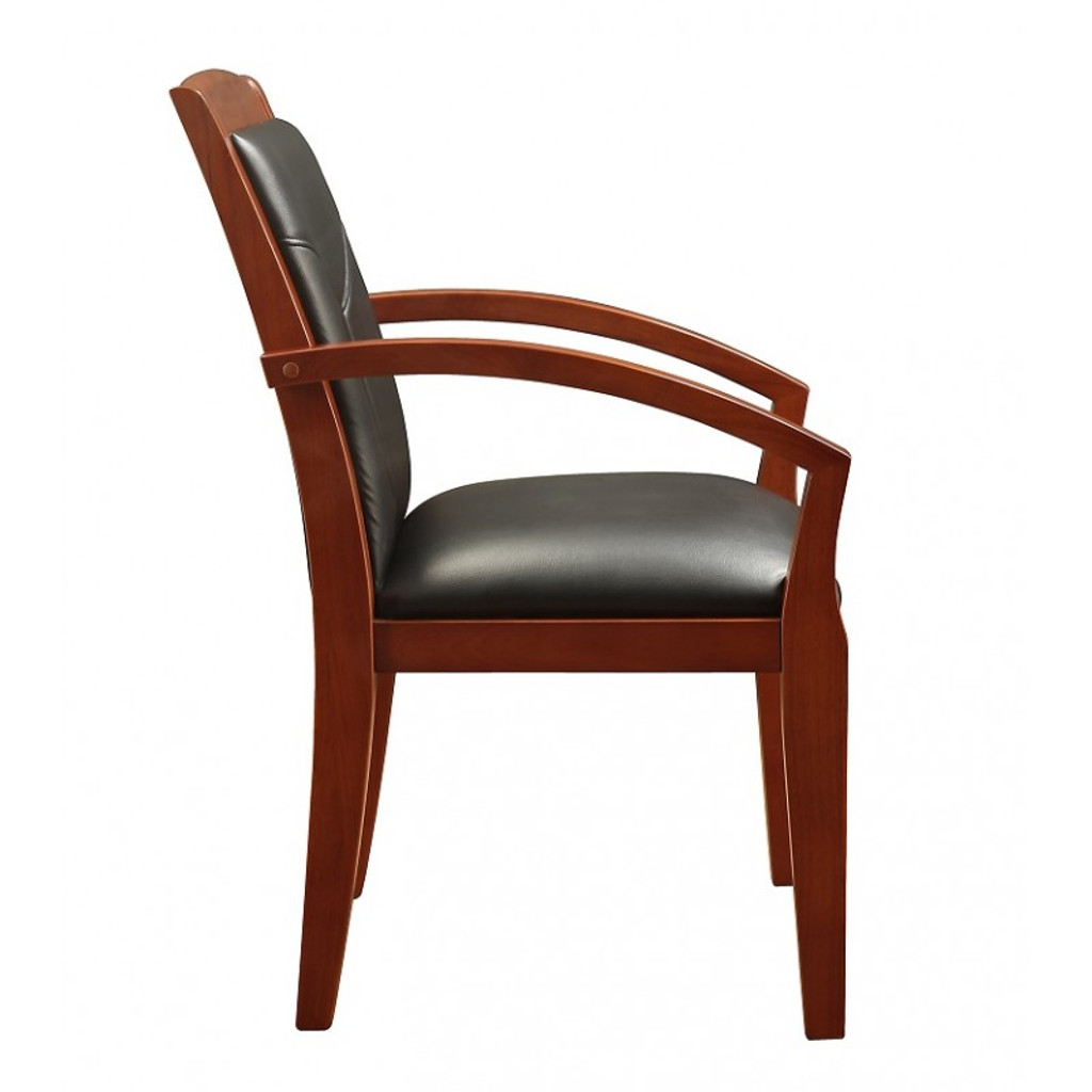 Cuscino Cherry Wood Guest Chair