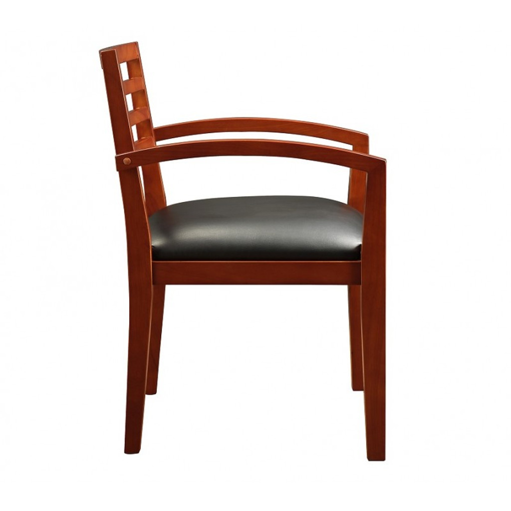 Fascino Cherry Wood Guest Chair