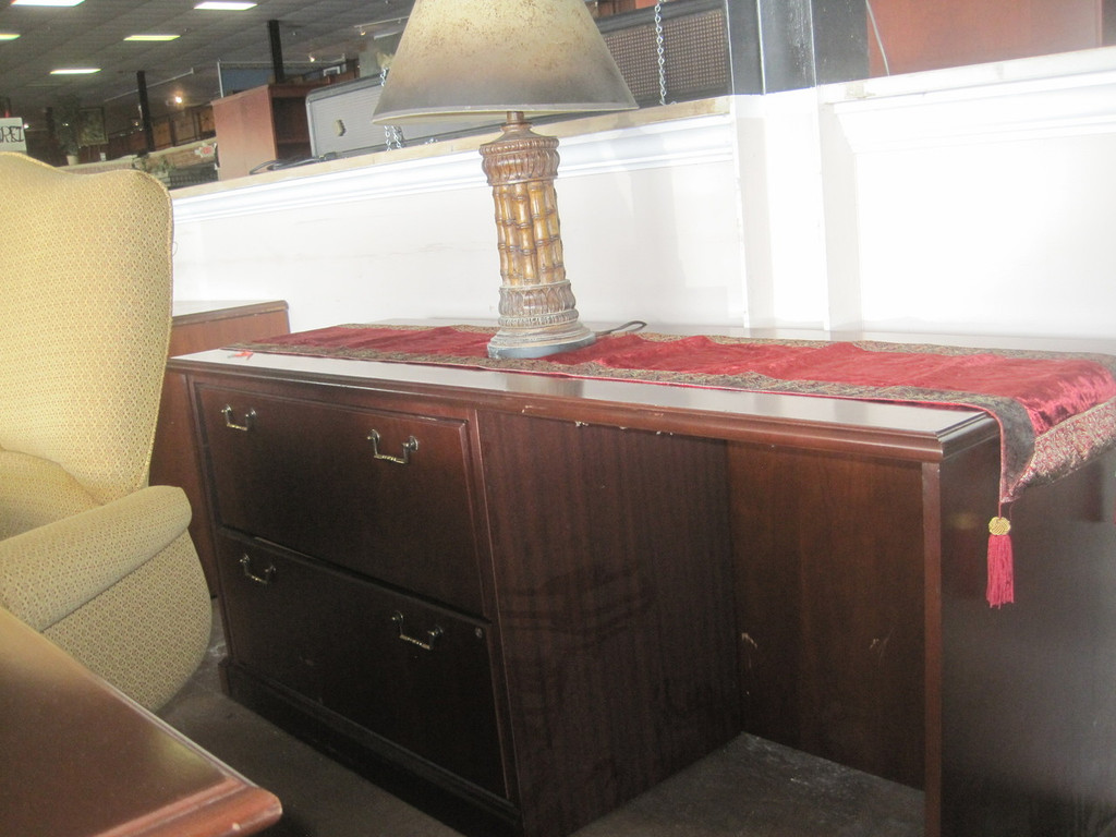 Desk Sets Double Ped w/Credenza