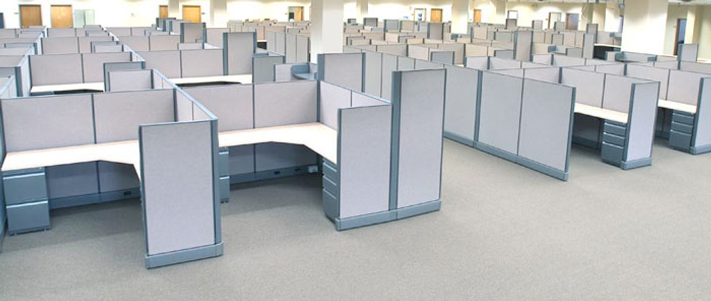 New and used office workstations