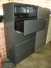 Used 4 Drawer 1 Shelf Storage Lateral File