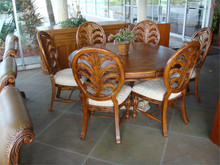 5 Foot Round Table With 6 Chairs