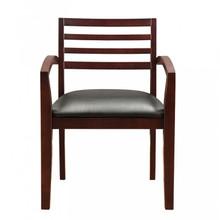Fascino Mahogany Wood Guest Chair