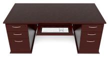 Desk Double Ped. Rectangular