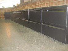 Black Steel Lateral Files