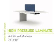 "High Pressure Laminate 71"" x60""-Straight Edges"