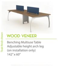 "Wood Veneer 142"" x60""-Knife Edges"