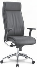 Alto Executive Series Leather High Back Adjustable Armrest