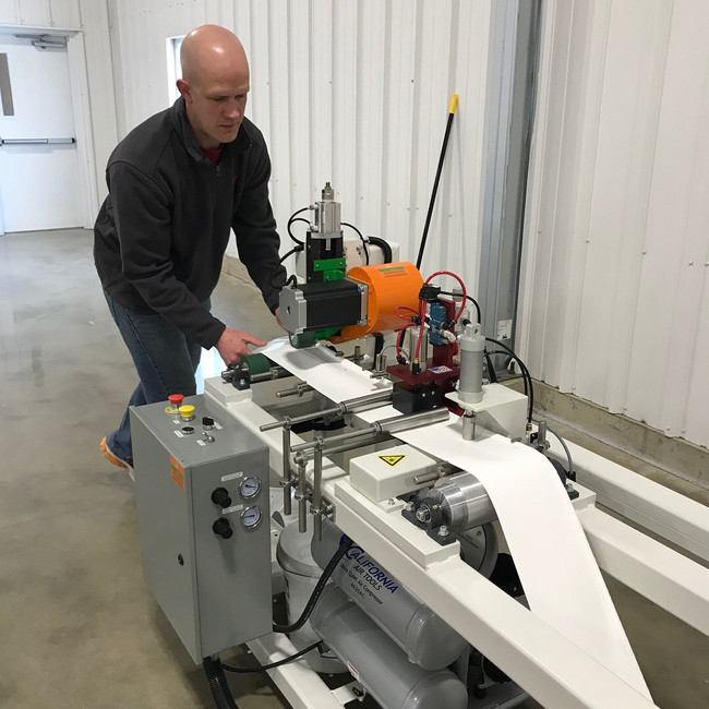 Dome Manufacturing Begins at GASC in Alton, Iowa
