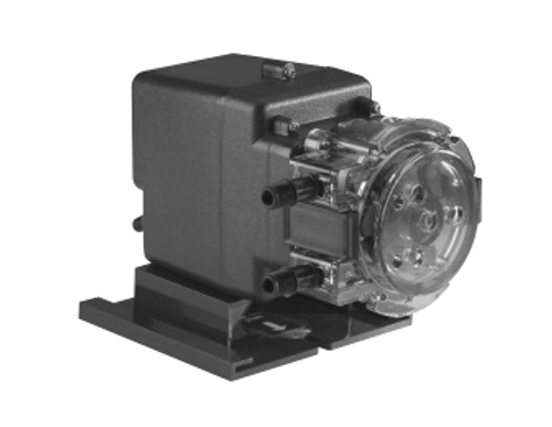 Side view of peristaltic pump