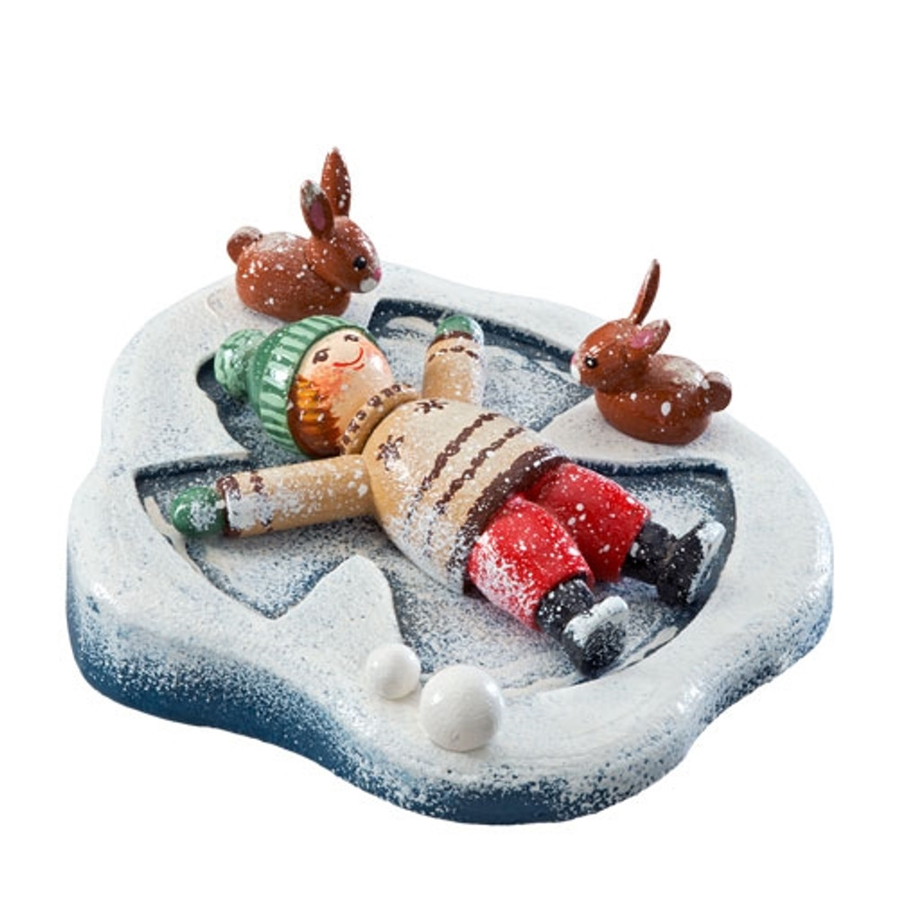 Snow Angel Winter Wonderland Figurine
