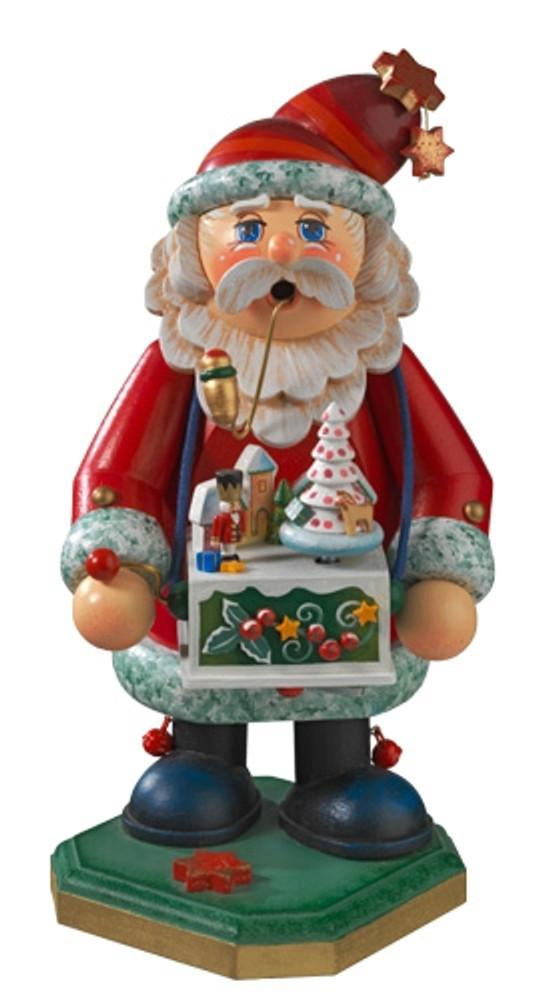 Santa with Music Box