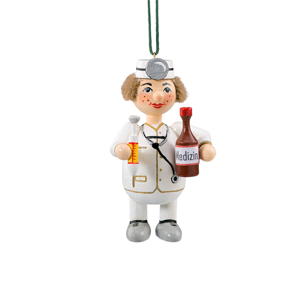 Holzbuddy Doctor Wood Ornament
