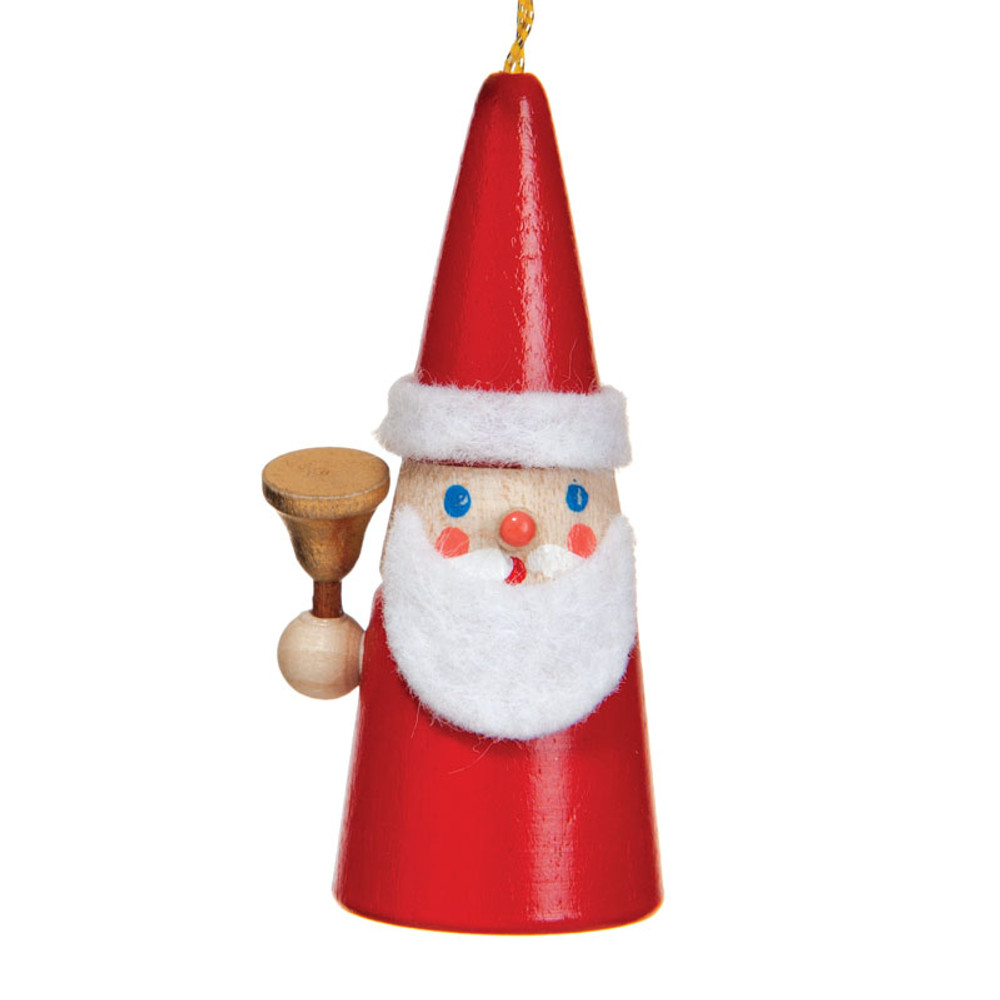 Cone Santa with Bell