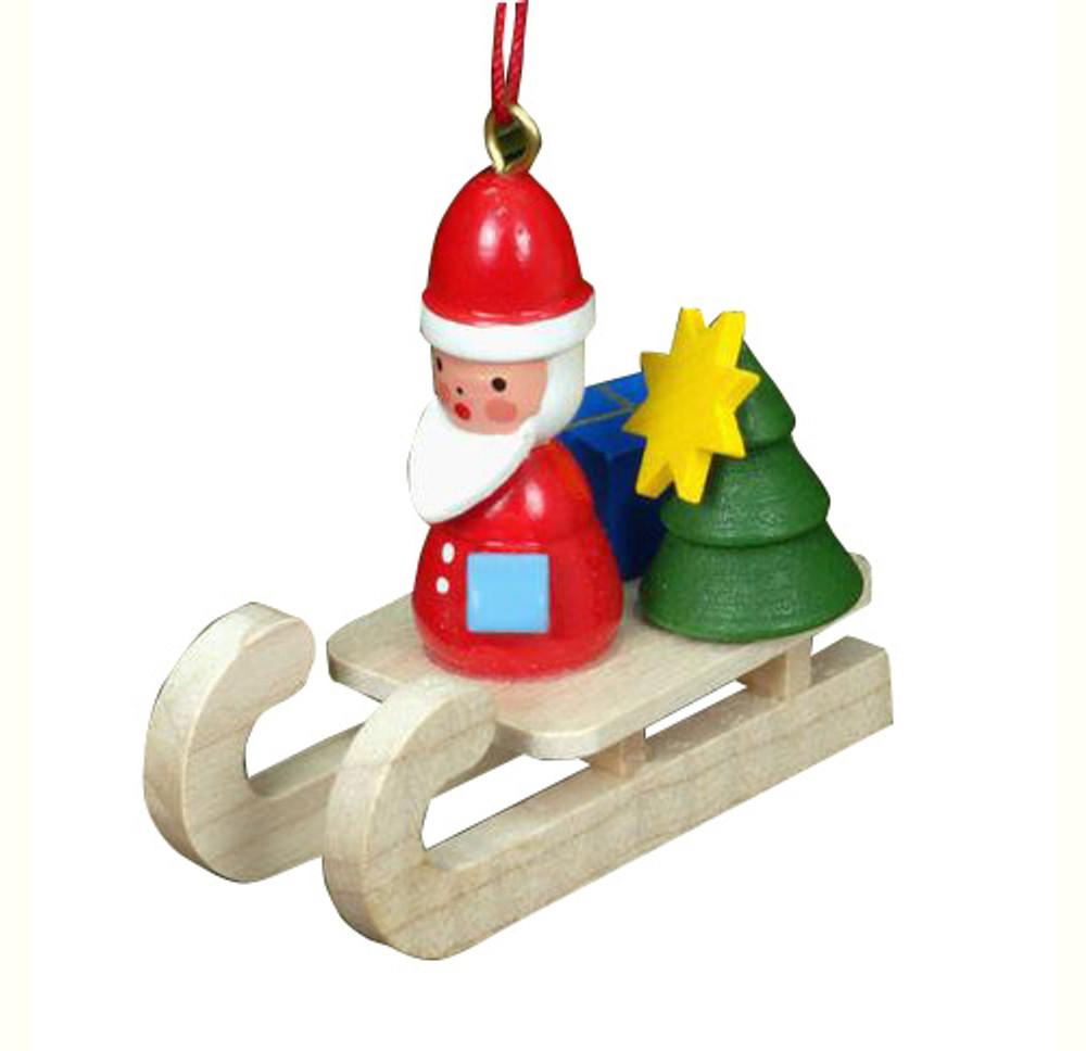 Santa on a Sled