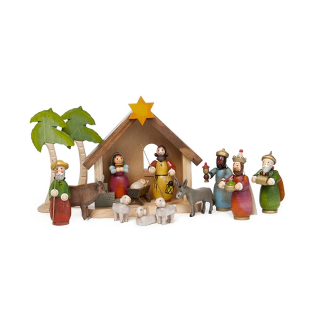 Nativity Scene, Holy Night, 15pc set