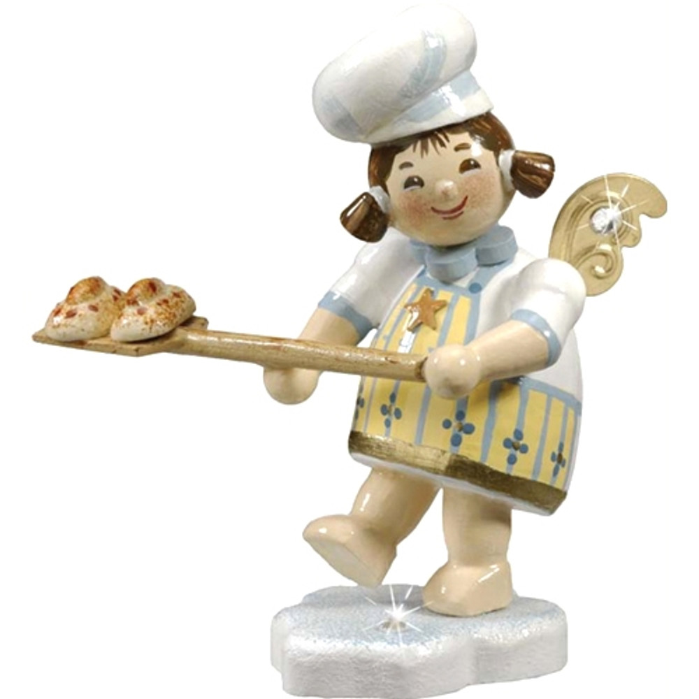 Angel with Oven Paddle
