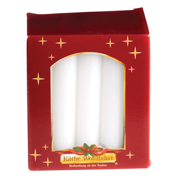 Large White Candles