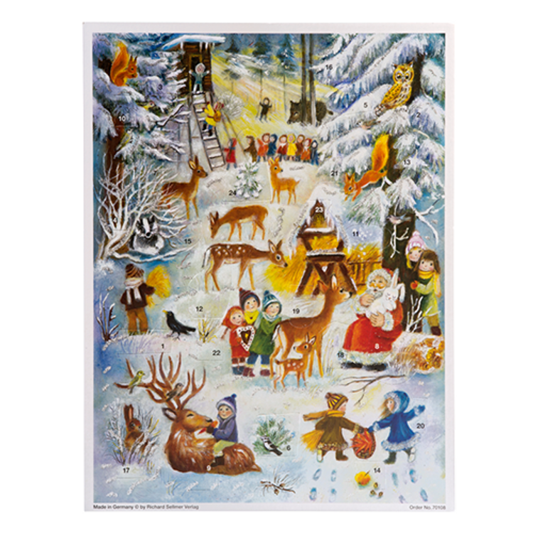 Christmas in the Forest Advent  Calendar