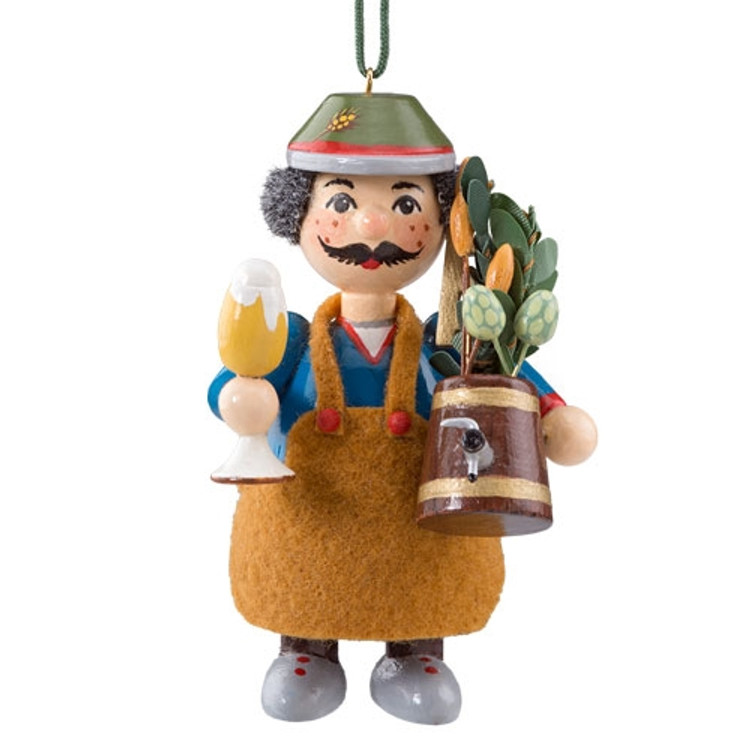 Brew Master Wood Buddy Ornament