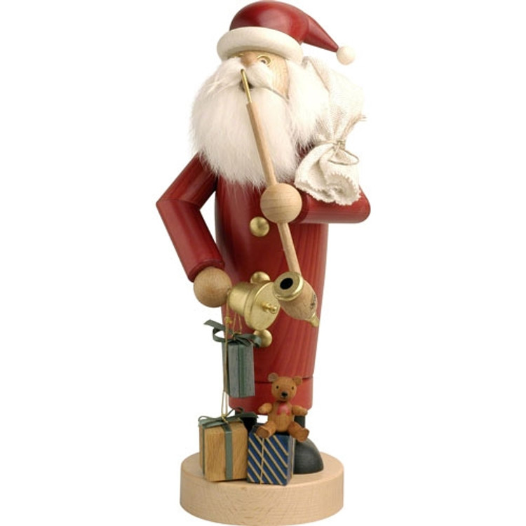 Santa with Bell and Gifts