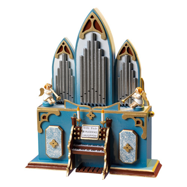 Organ Music Box with Angel