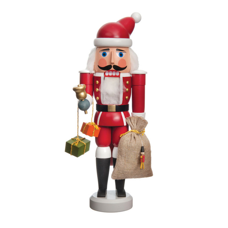Santa Bringing Gifts Nutcracker
