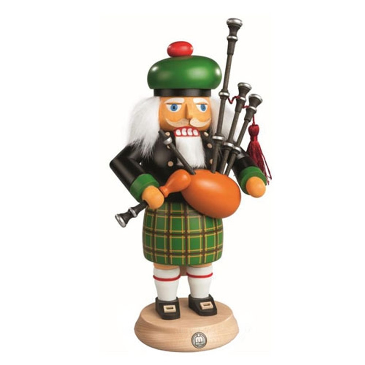Scotsman Playing Bagpipes