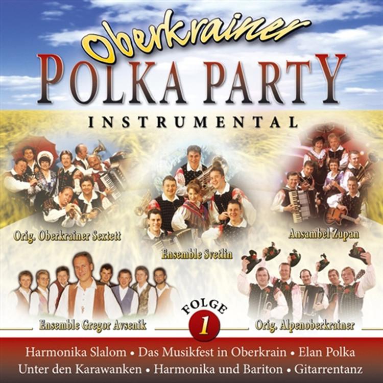 Oberkrainer Polka Party Instrumental CD
