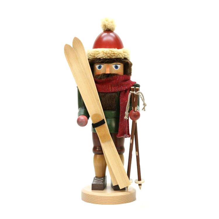 Skier Nutcracker