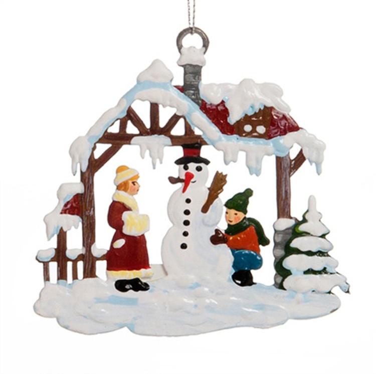 Snowman's House
