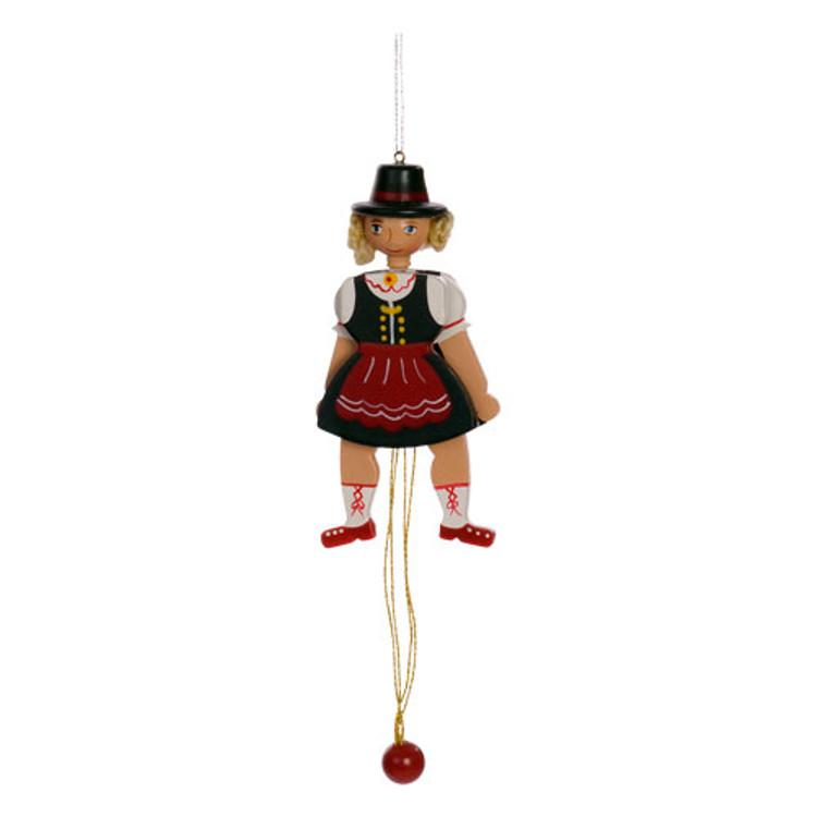 Bavarian Girl Jumping Jack