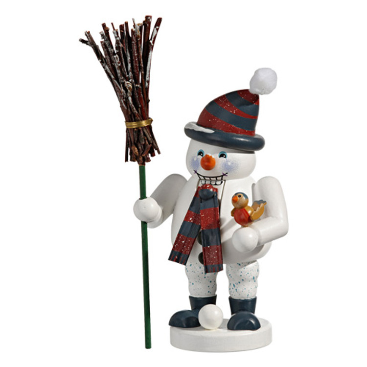 Snowman with Stripped Hat