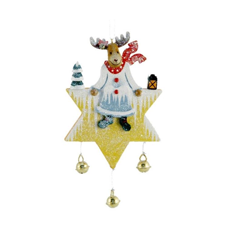 Reindeer on a Star