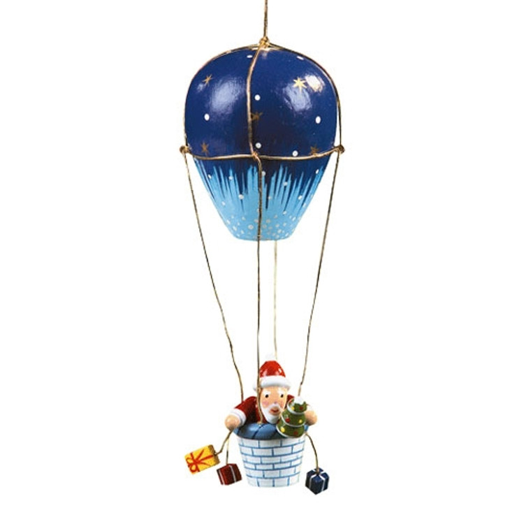 Santa in a Hot Air Balloon